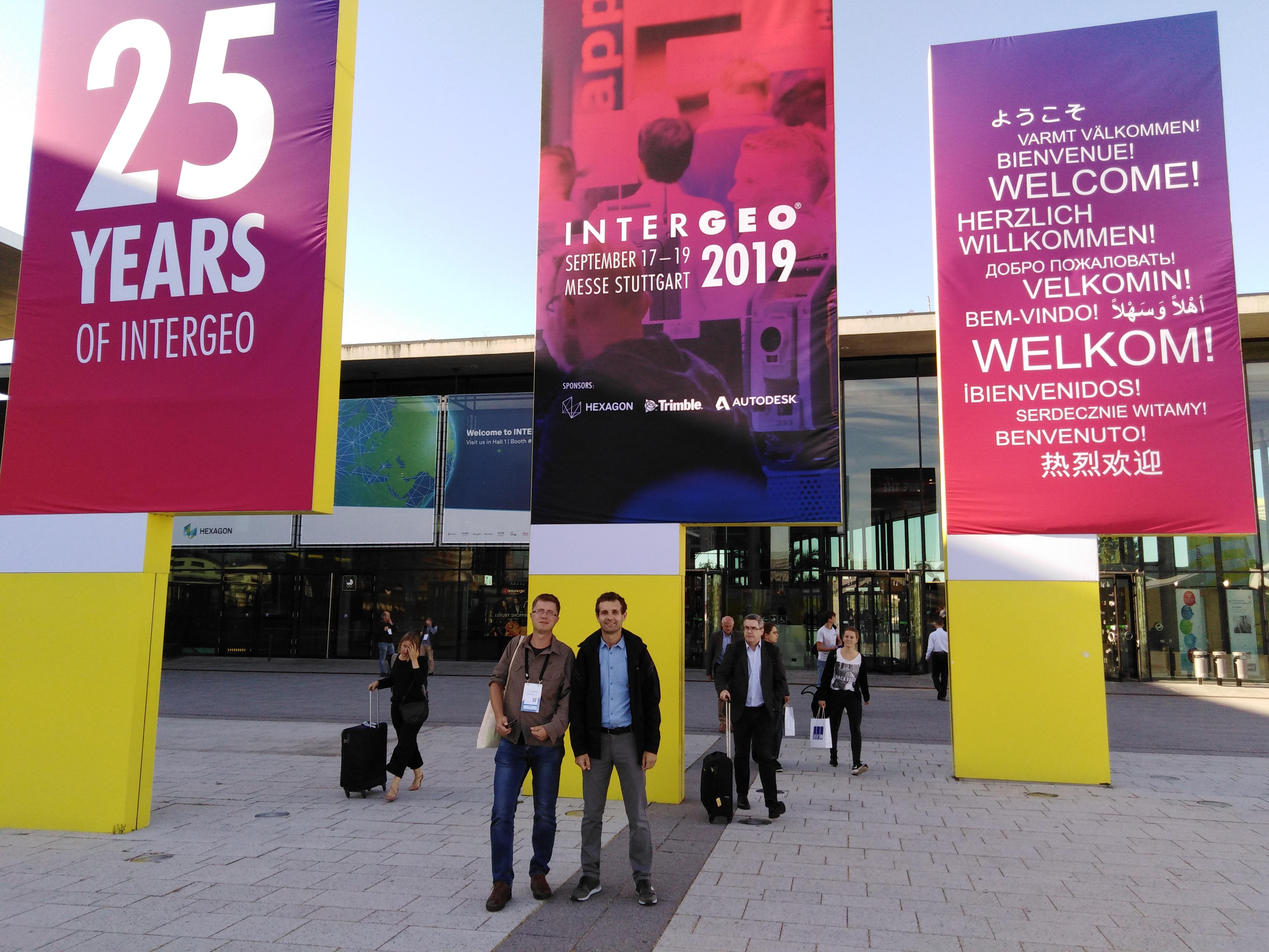Z wizytą na międzynarodowych targach INTERGEO w Stuttgarcie
